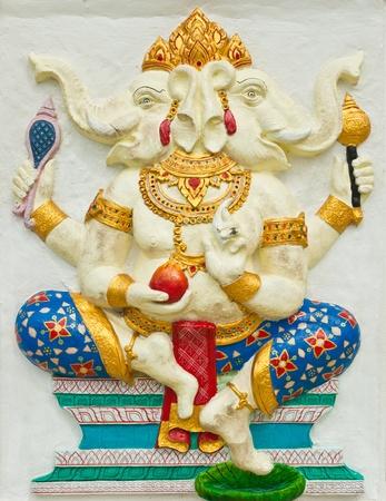 trust god: Indian or Hindu God at Wat Saman, Chachoengsao, Thailand