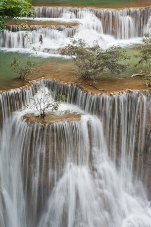 kanchanaburi: Huay mae Kamin waterfall, Kanchanaburi, Thailand