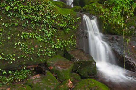 Sai Thip Waterfall at Phu Soi Dao National Park, Uttaradit, Thailand photo