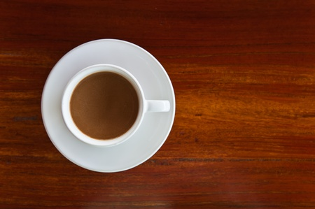 Coffee on wooden background Stock Photo - 11309673