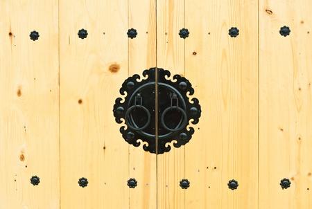 doorknocker: Door knob in Korean style