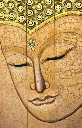 buddha face: The face of Buddha