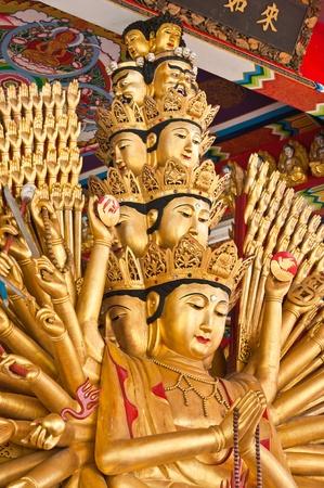 Guan Yin with ten thousand hands Stock Photo - 11508878