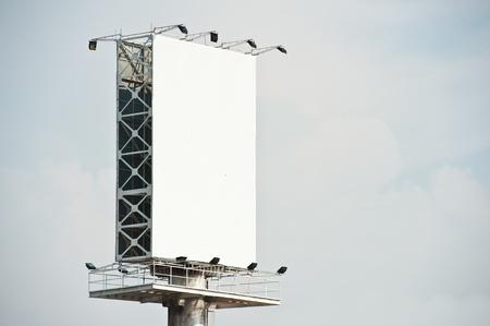 Empty billboard photo