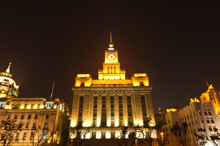 tourist feature: Shanghai city at night