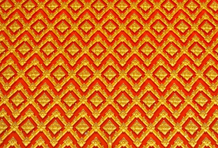 Stucco Pattern from thai temple Stock Photo - 11516870