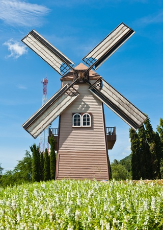 Windmill photo