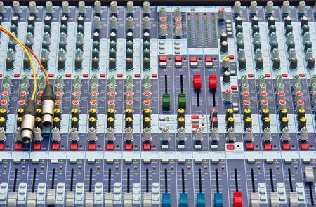 Professional Audio Mixer photo