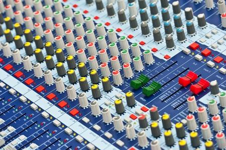 musica electronica: Mezclador de Audio Profesional