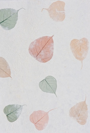 Mulberry paper texture background photo