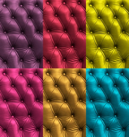 Colorful leather texture photo