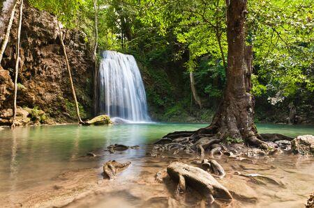eravan: Eravan Waterfall, Kanchanabury, Thailand
