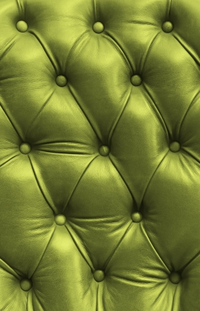 leatherette: green eather texture Stock Photo