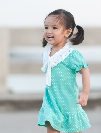 Portrait of little Asian girl Stock Photo - 14096251