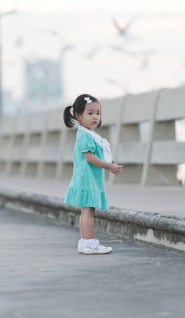 Portrait of little Asian girl Stock Photo - 14096250