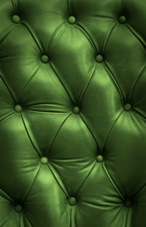 leatherette: green leather texture