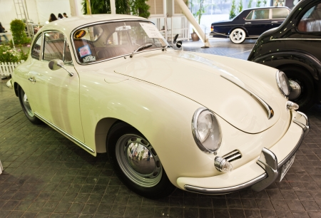 BANGKOK - JUNE 24  Porsche 3568 on display at The 36th Bangkok Vintage Car Concours on June 24, 2012 in Bangkok, Thailand