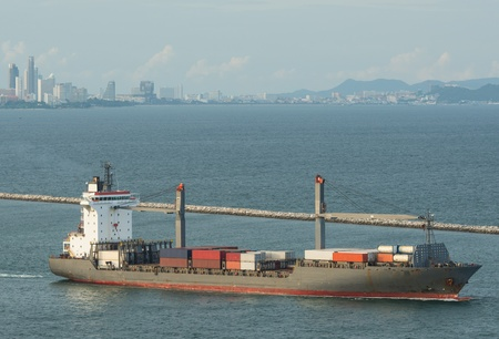 Large container ship photo