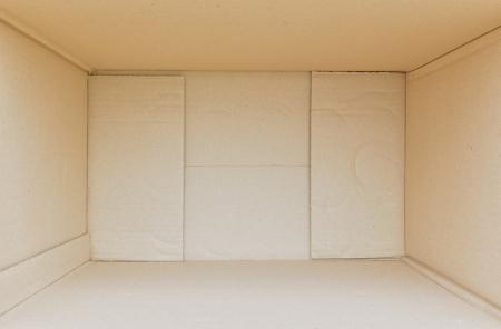 Cardboard box Banque d'images