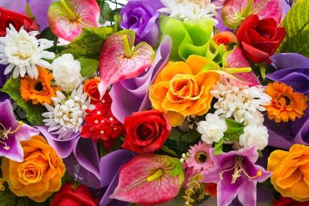 flowers: Bouquet de fleurs Banque d'images