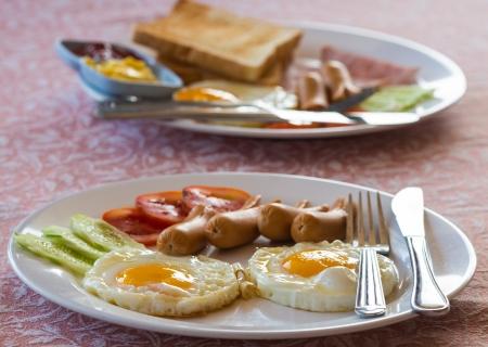 Classical breakfast photo
