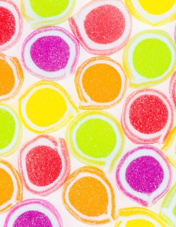 Colorful different Jelly Candy Stock Photo - 18078889