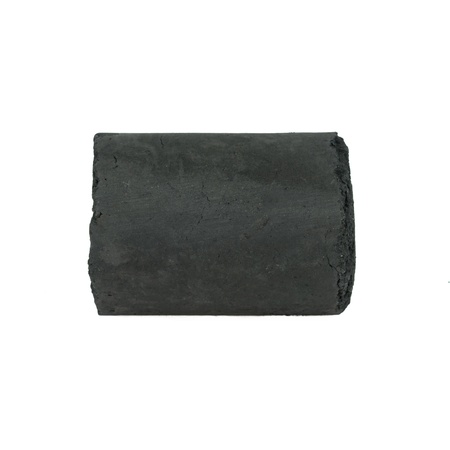 anthracite coal: coal on Isolated white background