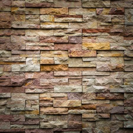 textuur: patroon van decoratieve leisteen stenen muur oppervlakte