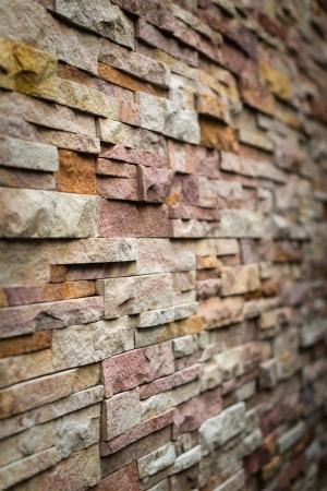 pattern of decorative slate stone wall surface Stock Photo - 21231151