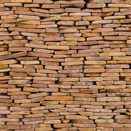 pattern of decorative slate stone wall surface Stock Photo - 21231111