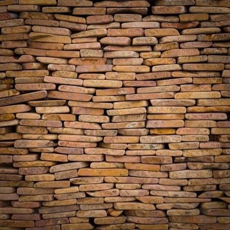 pattern of decorative slate stone wall surface Stock Photo - 21231131