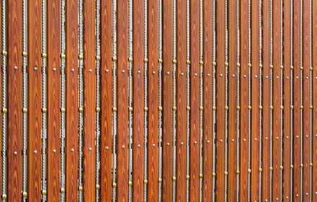 wood and steel gate texture