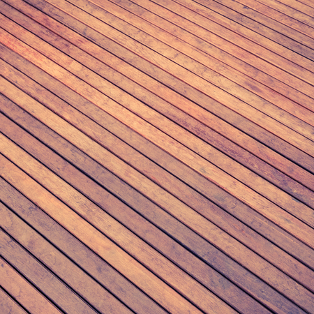 Abstract Background Wooden Floor - retro vintage filter effect