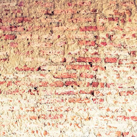 Vintage brick wall - retro vintage filter effect