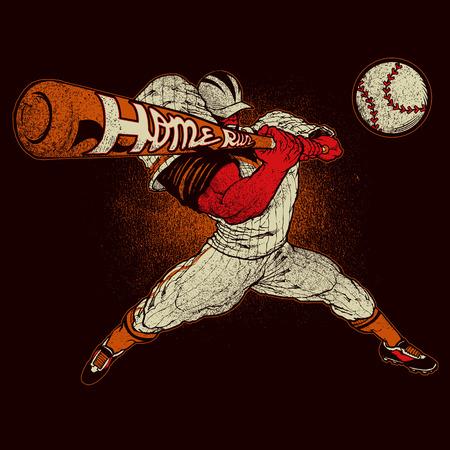Angry baseball player