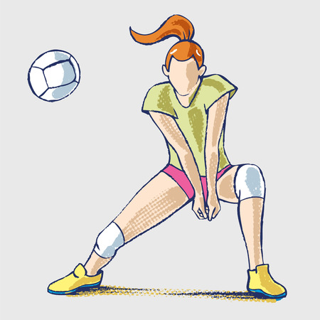 volleyball athlet