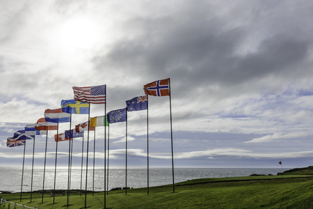 foreign nation: Flags of world Stock Photo