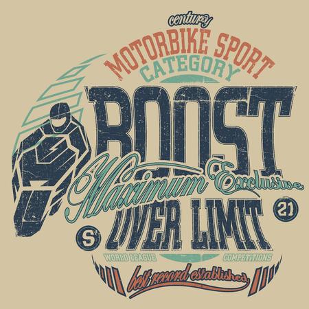 motociclista: Composición del escrito sobre el motociclismo con motociclista