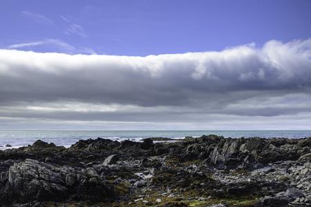 County Down coast landscape, Northern Ireland Stock Photo