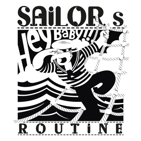 Sailor routine b / w