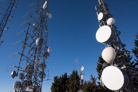 通信: Communications towers