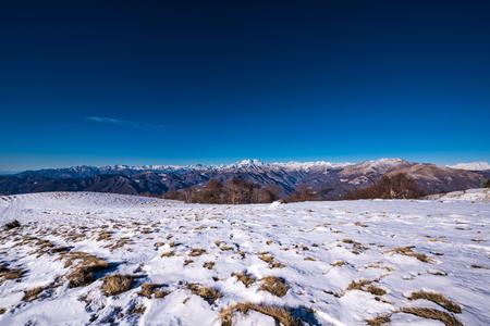 Landscape at Mottarone, Stresa, Piedmont, Italy
