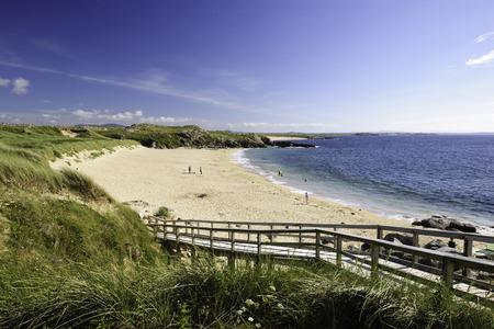 Donegal beach near Glassagh Lower, Ulster, Ireland