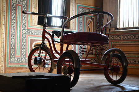 playthings: child tricycle