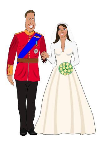 william: wedding pair