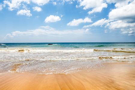 Beautiful landscape tropical beach, background Stock Photo