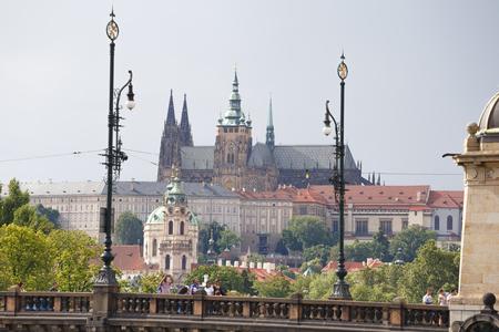 チェコ共和国、プラハ、聖ヴィート大聖堂