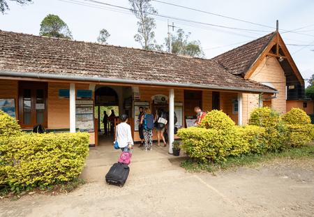 ELLA, SRI LANKA, Southern Asia - February 07, 2016: Ella Railway Station in Sri lanka