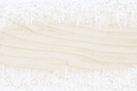 Christmas background, frame snowflakes Standard-Bild - 92202026