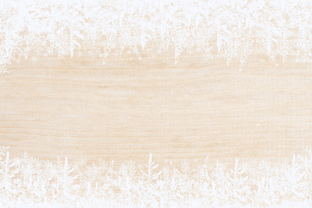 Weihnachtshintergrund, Feldschneeflocken Standard-Bild - 92192883